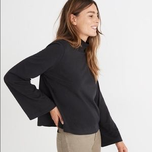 🚘MOVING🚘 Madewell Wide-Sleeve Turtleneck Top XS